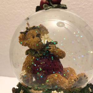 Vintage Boyd's Bear Waterball The Simple Things